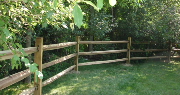 Split Rail Fence Five Star Fence Builders