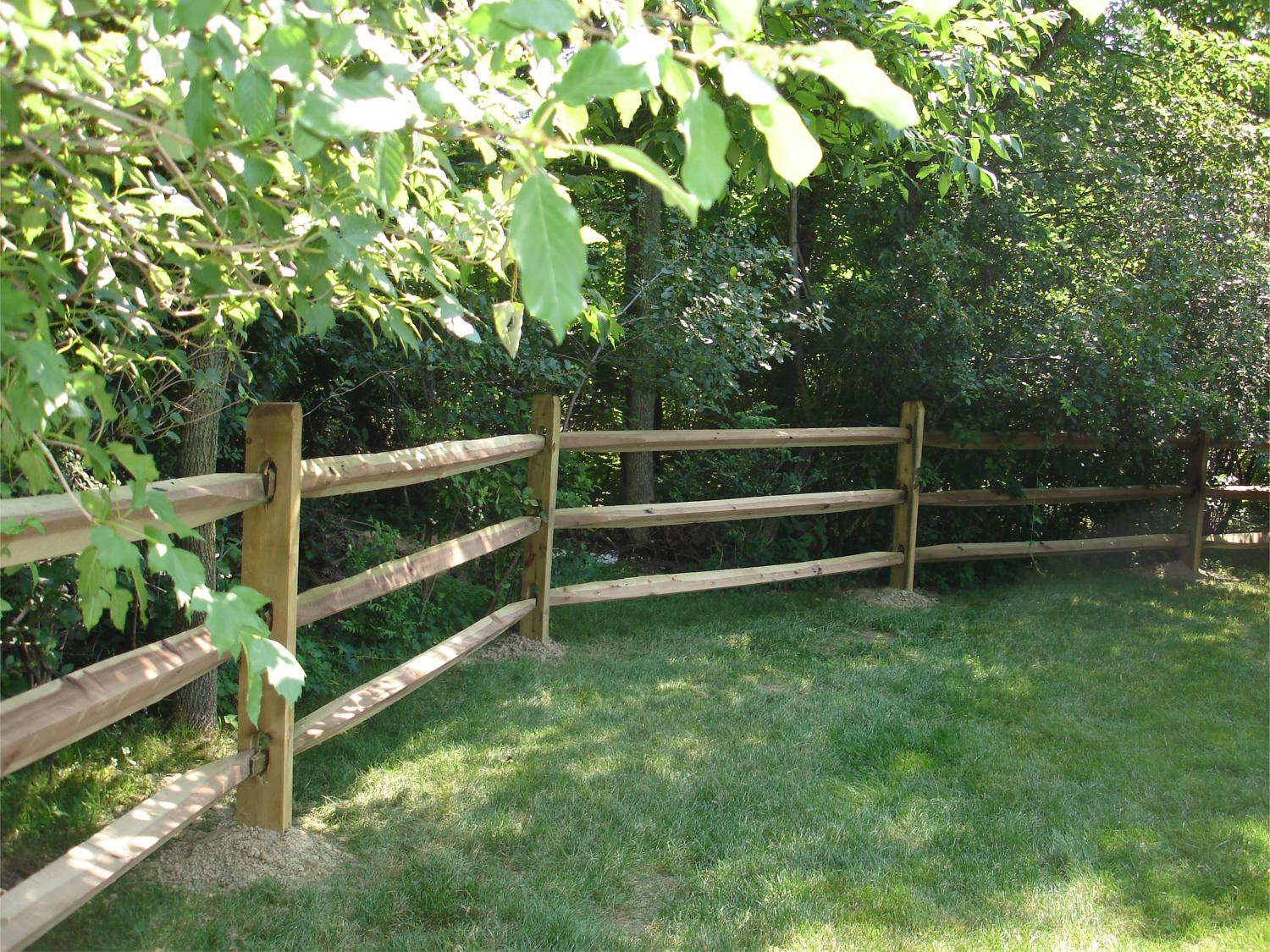 Split Rail Fence Five Star Fence Builders